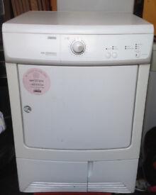 Zanussi ZDC37200W Condenser Tumble Dryer 7 kg Load White