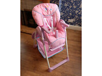 Hauck Sit n Relax 2 in 1 highchair (Butterfly)