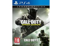 call of duty infinite warfare legacy edition with modern warfare remastered