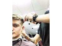 Barber position.