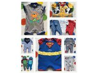 Baby boy bundle of clothes 0-3 months