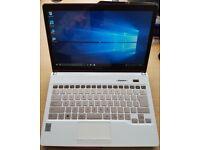 Fujitsu Touch Screen Laptop, Rose Gold, i5 4th Gen, 500GB HDD, 4GB Ram