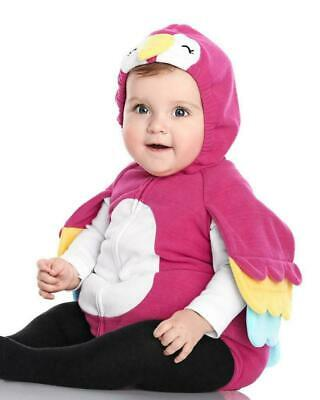Parrot Halloween Costume For Baby (CARTERS $44 LITTLE PARROT Bird Halloween Costume Baby Girl Sz 18 Months)
