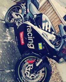 Aprillia rs 125cc 2 stroke