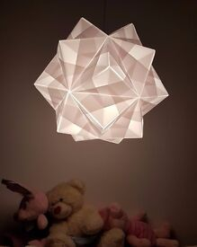 Origami Cosmos Lamps