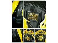 LUCKY STRIKE MOTORCYCLE LEATHER JACKET