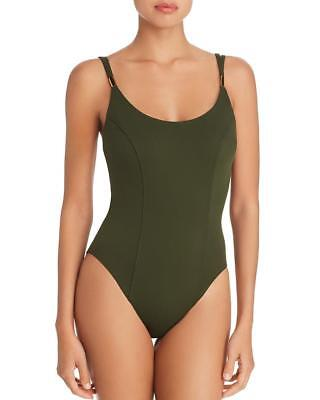 NWT NEW Amoressa Olive Color My World Diana One Piece Swimsuit 6 $148 at15