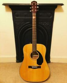 Fender Acoustic Guitar - CD-60S Natural and accessories bundle!