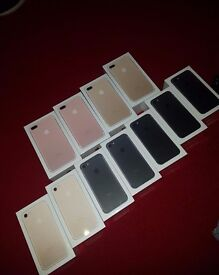 iPhone 7 & 7 Plus, All Sizes (32,128 & 256 GB) And Colours!!
