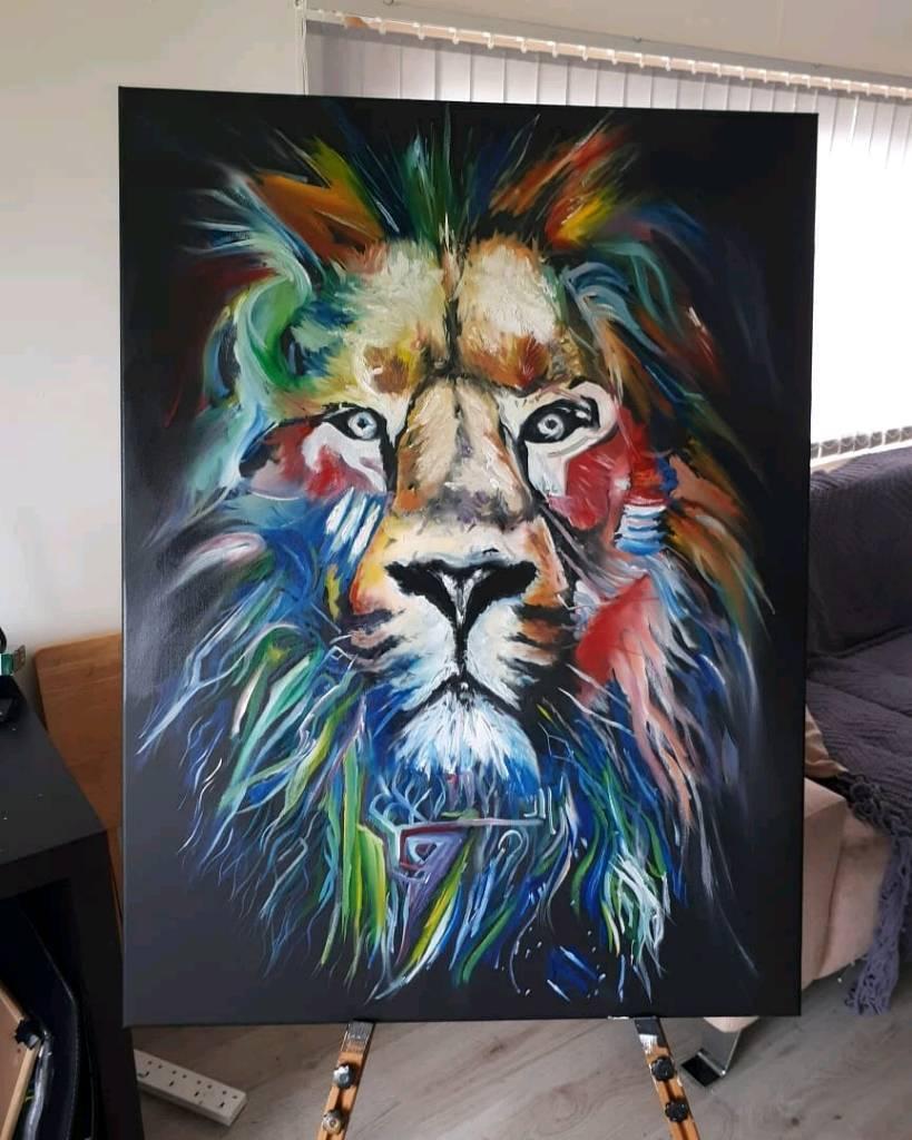 Lion Art In Ballymena County Antrim Gumtree