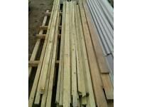 Timber tanilized triangle new strips x 25.