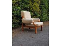 Vintage Retro Lounge Chair Mid Century Modern