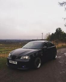Modified seat Ibiza swaps for a civic