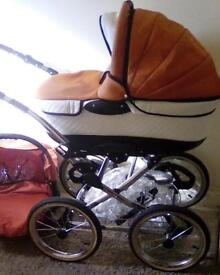 STUNNING PRAM (reduced to £100 for quick sale)