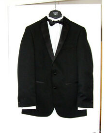 Dinner Suit with Shirt and Bow Tie