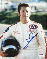 VINTAGE MARIO ANDRETTI INDY 500 LEGEND HAND SIGNED 8X10 PHOTO