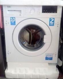 BEKO WIX765450 Integrated 7 kg Washing Machine - New