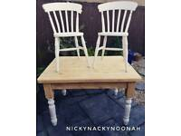Farmhouse Dining Table And Chairs