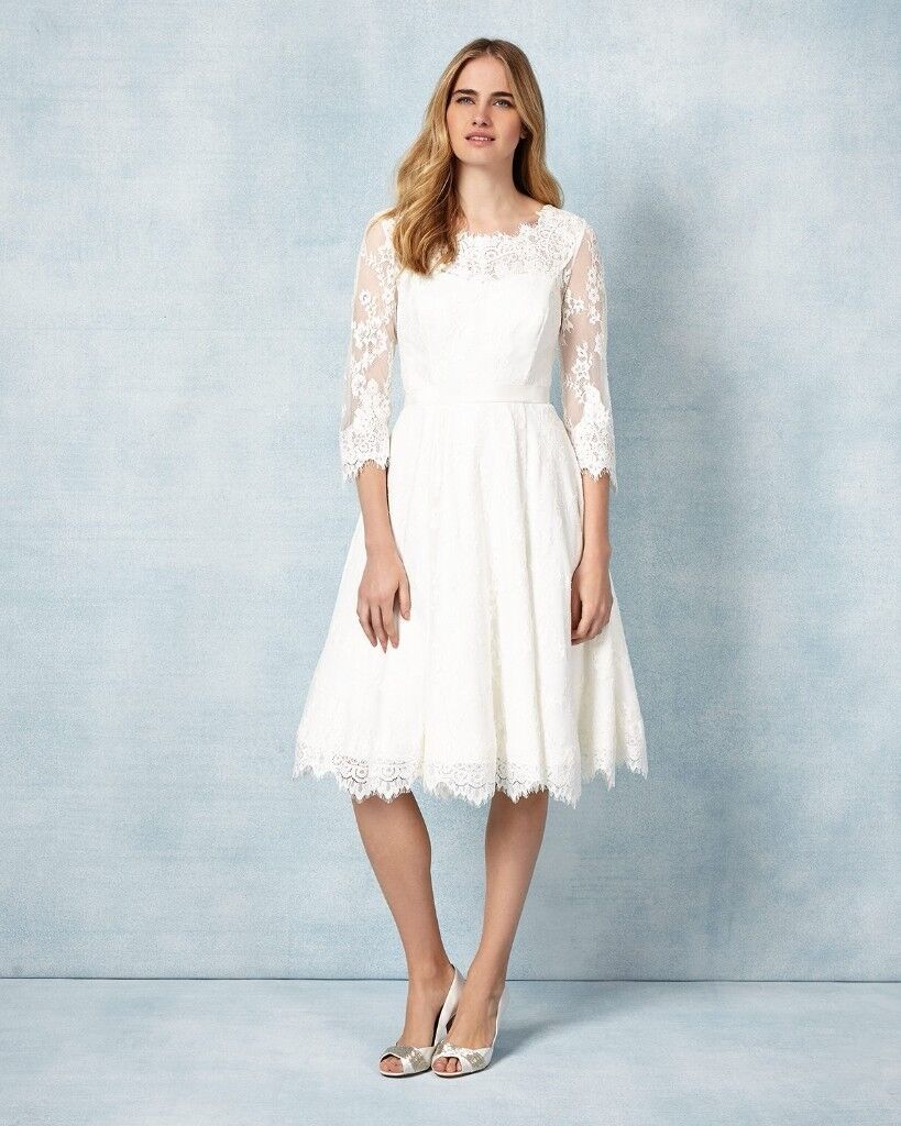 PHASE EIGHT CRESSIDA WEDDING DRESS, SIZE 14, ONLY WORN A FEW HOURS ...