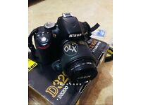 Nikon D3200 with 50mm 1.8 G lense for sale in mint condition