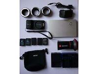Blackmagic Pocket Cinema Camera (BMPCC) with Accessories