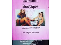 Jamauii Boutique is a online Boutique for ladies and girls .