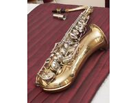 Tenor Saxophone - good first training sax, sensibly priced.
