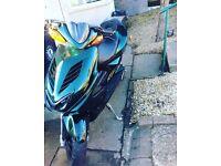 Yamaha aerox 12 plate