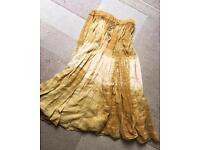 Floaty gypsy maxi skirt