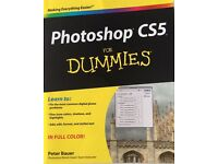 NEW Photoshop CS5 for dummies by Peter Bauer