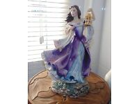 (#35) Franklin mint Fine porcelain Catherine from Wuthering Height excellent condition £45 ONO