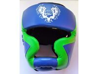 Children Little Warrior Sparring HeadGuards Synthetic Leather