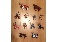 Schleich/Papo Knights And Horses Bundle ** 12 Items ** Excellent Condition