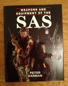 Book Weapons And Equipment Of The SAS By Peter Darman Hardback New