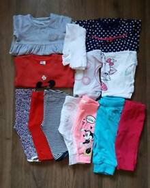 0-3 months, Baby girl outfits bundle (11 items)