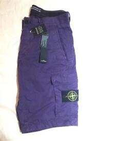 Stone purple shorts brand new with tags Genuine