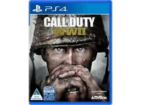CALL OF DUTY WW2 PS4 MINT