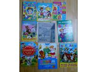 Childrens Learning and Story Books in the Russian Language (19 Books)