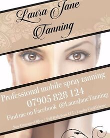 Mobile Spray Tanning only £15 - Nottingham and Derby