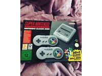 nintendo SNES Brand new in box