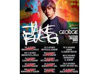 **FACE VALUE** 4x Jake Bugg tickets, Friday 28th October, Rock City Nottingham