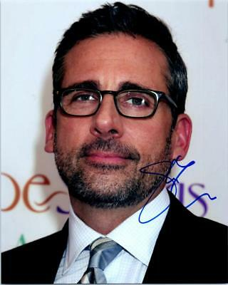 Steve Carell Signed 8X10 Photo Picture Autographed Good Looking Plus Coa