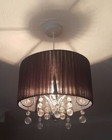Table lamps, ceiling lamps, shade.