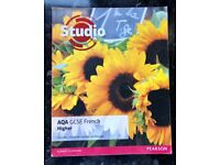AQA GCSE French studio book (Higher)