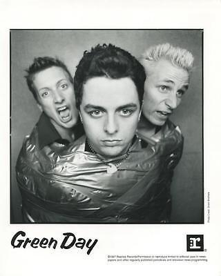 GREEN DAY  1997 Reprise Records original 8x10 promo photo