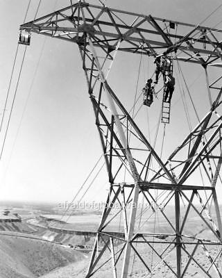Photo  1960S  Idaho  Power Linemen   Repair