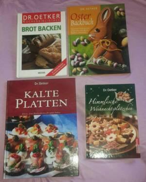 Weihnachtsplätzchen Backen Dr Oetker.Dr Oetker Backbücher Rezepte Weihnachten Ostern Plätzchen Brot