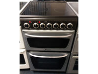 £150 Hotpoint 50cm Ceramic Top Cooker - 6 Months Warranty