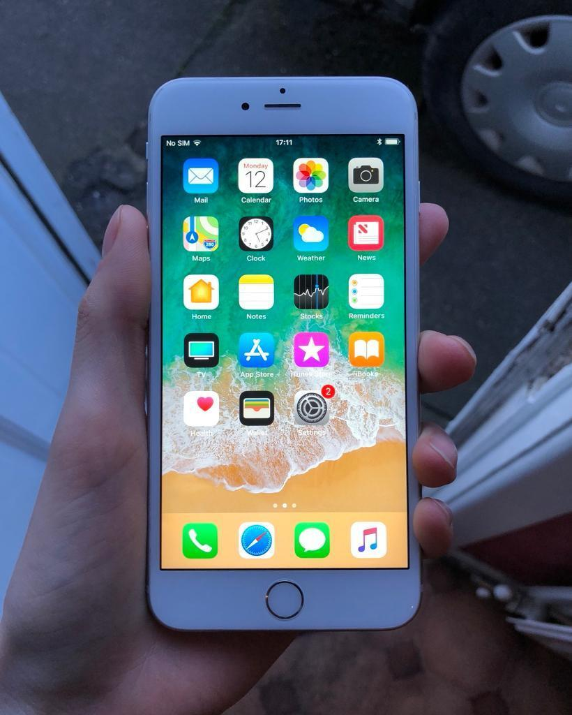 Iphone 6s Plus Silver 128gb Excellent Condition In Newtownabbey