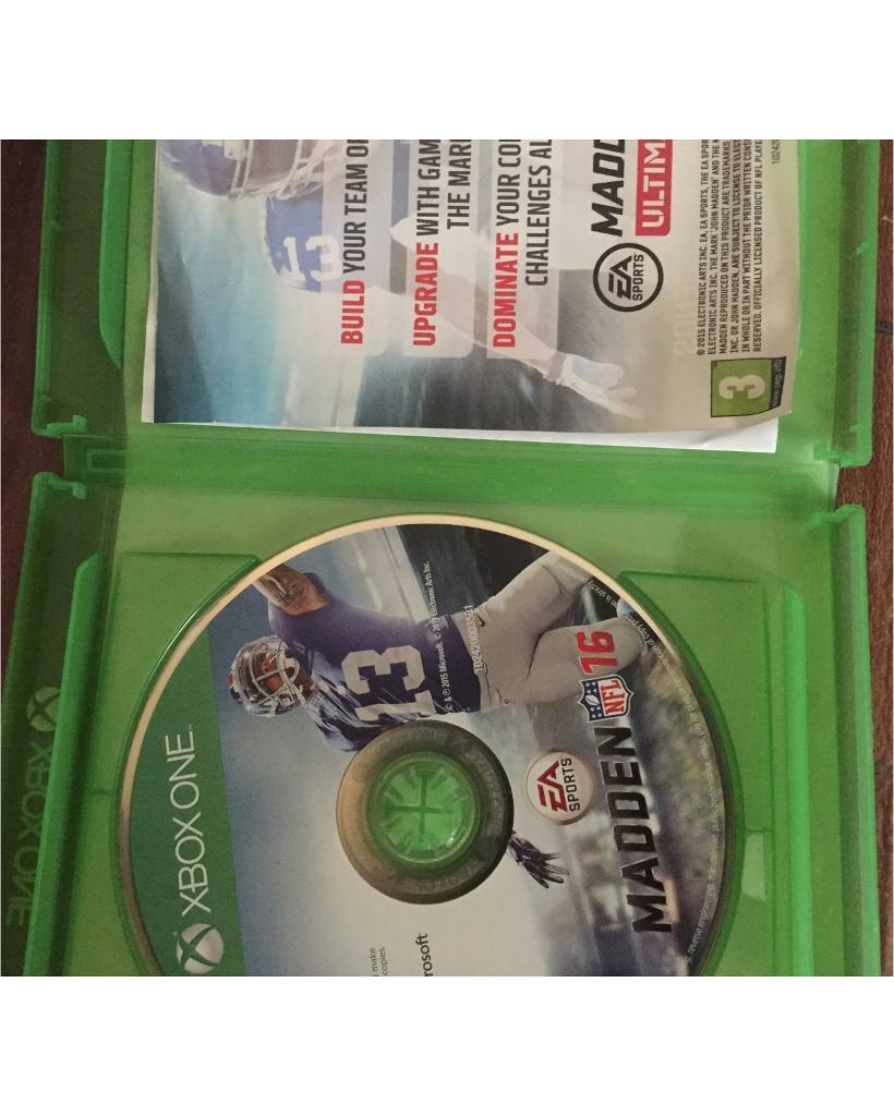 Xbox ONE Madden NFL   in Newcastle, Tyne and Wear   Gumtree